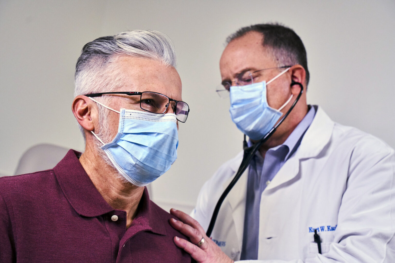 Physician Working with a Patient